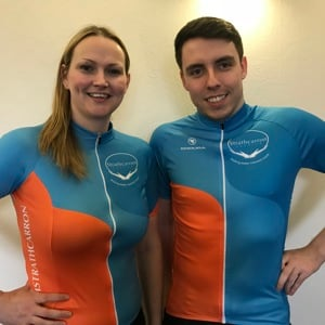 Team Strathcarron Endura Cycle Tops - SIZE MEDIUM