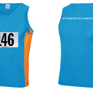Strathcarron Running Vest - Size Medium
