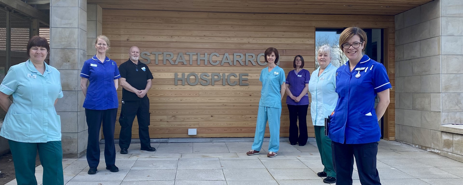 Celebrating 40 years of Strathcarron Hospice